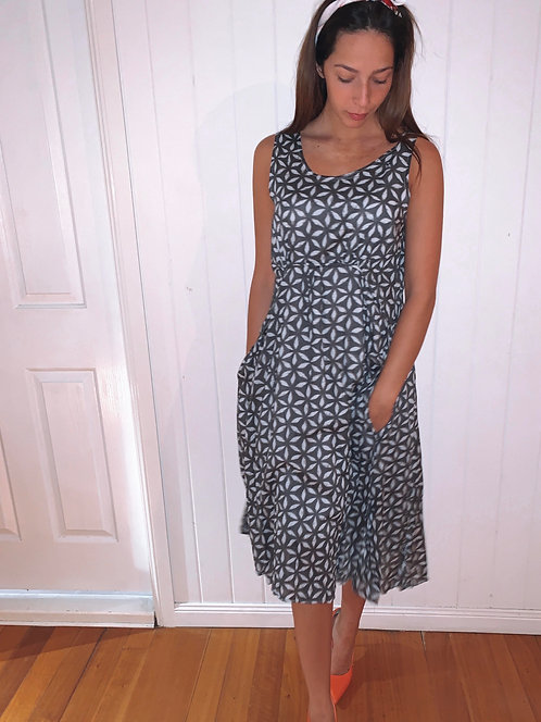 The Dolly Steel Lily Dress