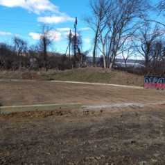 Beginning Stages of Outdoor Training Area,April, 2019