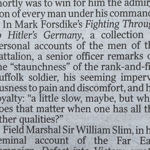A Mention In 'The Times'