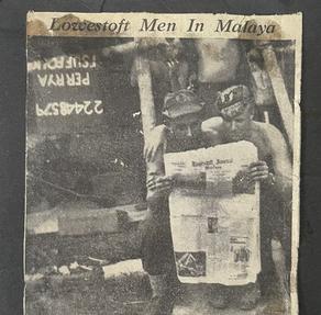 Lowestoft Men In Malaya