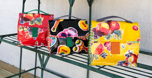 Oilcloth Lunch Bags