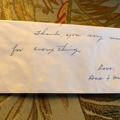 TBG: The Journey   Mom's Last Note