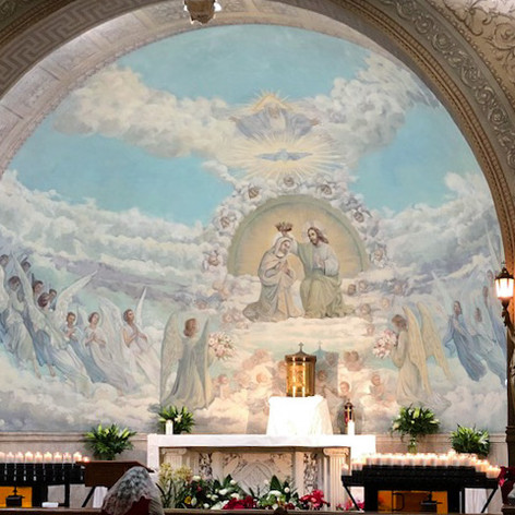 TBG: A Page at a Time   Immaculate Conception Coronation