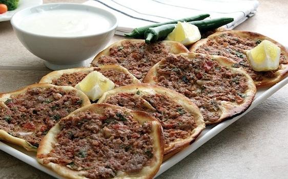 lebanese meat sfiha