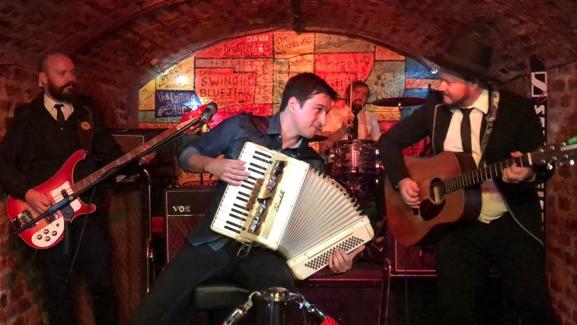 The Beatles on Accordion