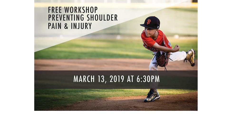 Youth Baseball - Shoulder Workshop - RSM Office
