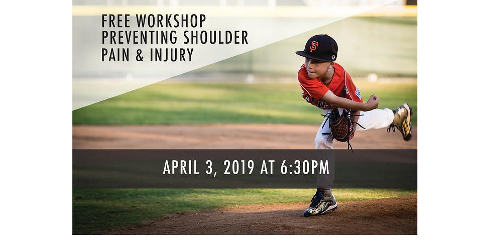 Youth Baseball - Shoulder Workshop - Irvine Office