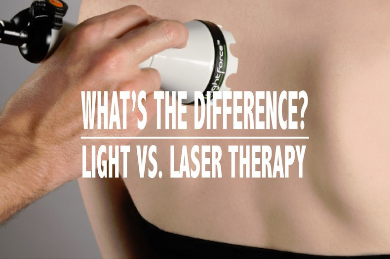 light vs laser therapy
