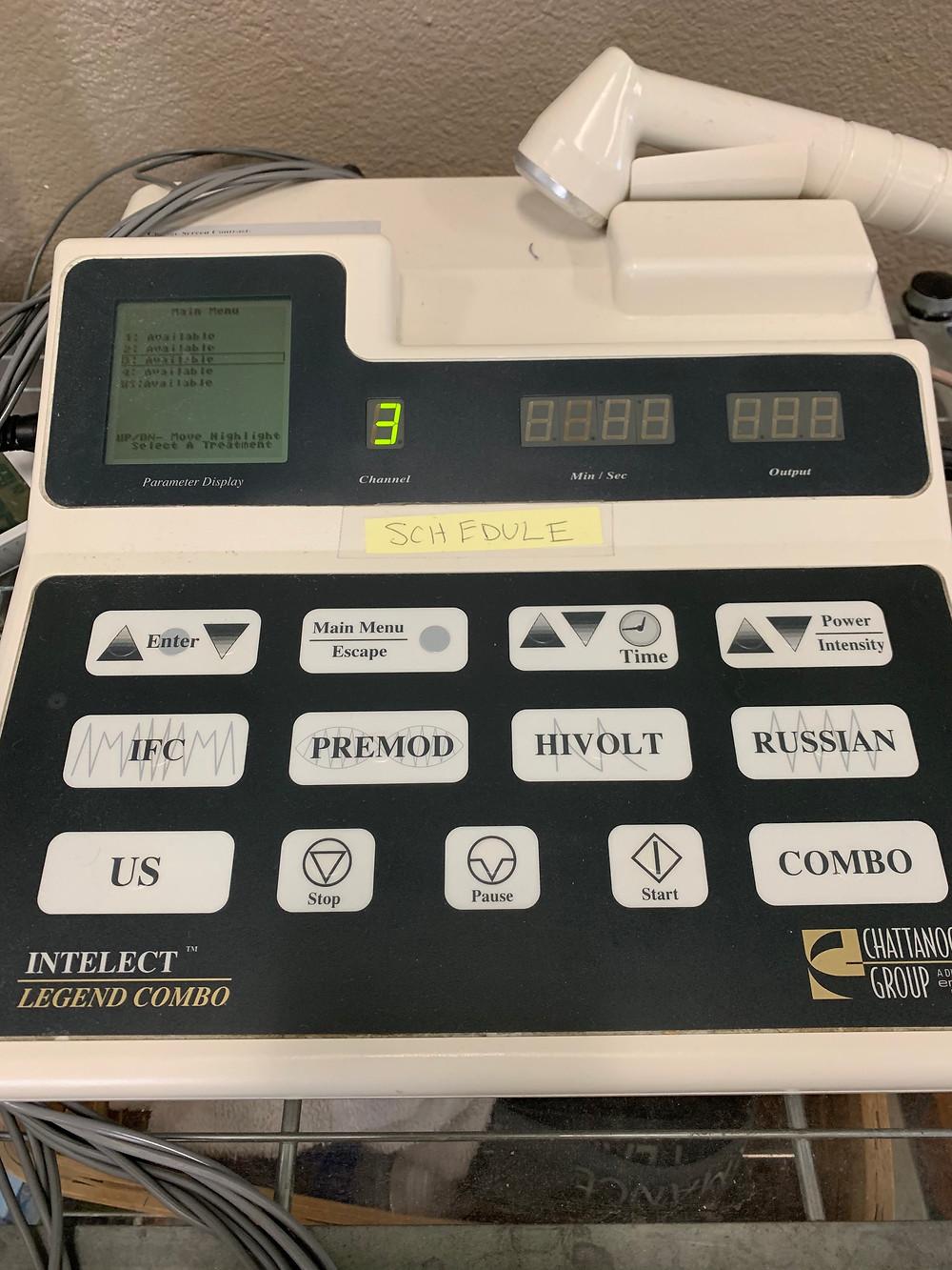 e-stim machine