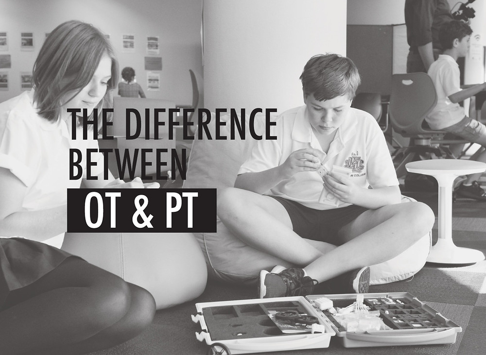 difference between ot and pt