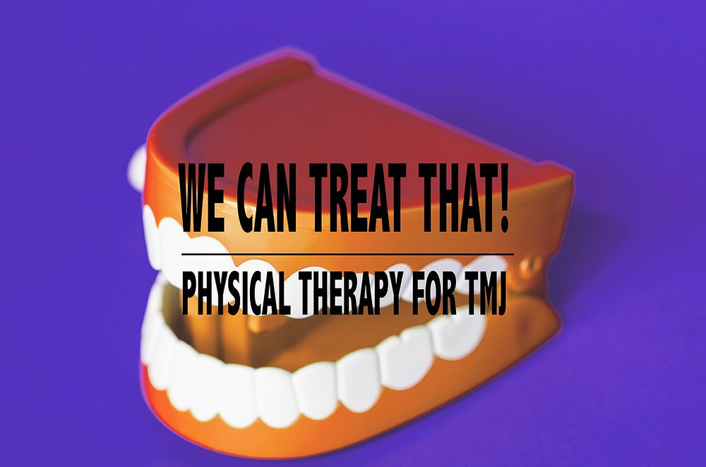 TMJ treated with physical therapy