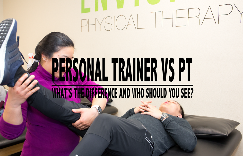 personal trainer vs PT