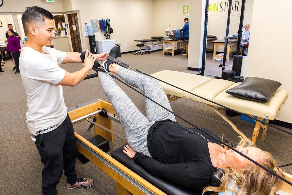 pilates-based physical therapy