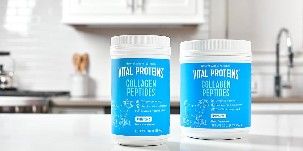 Vital Proteins Sampling Day