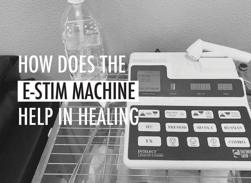 e-stim machine explanation
