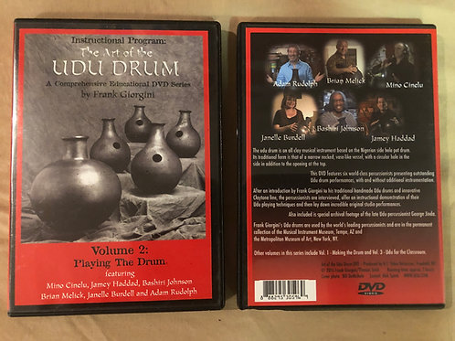 The Art of the Udu Drum ~   Vol 2: Playing the Drum, DVD
