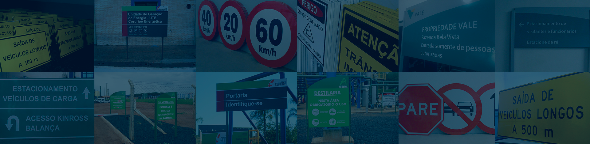 Imagem de placas de trânsito, Placas de sinalização, Placas de sinalização viária, Placas rodoviárias, Placas industriais.