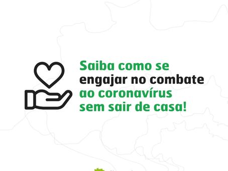 O momento pede união e solidariedade, participe de iniciativas da sua cidade!⠀