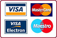 Credit card payments can be made in all Airport Cars Durham taxis