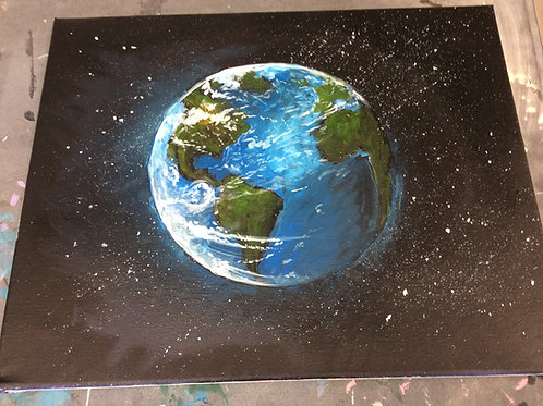 Painting: Acrylic & Watercolor Wednesday 5-7pm 1/6-2/10