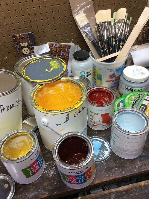 Painting Class Supplies
