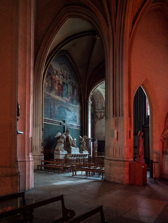 L'Église Saint-Gervais, Paris, France