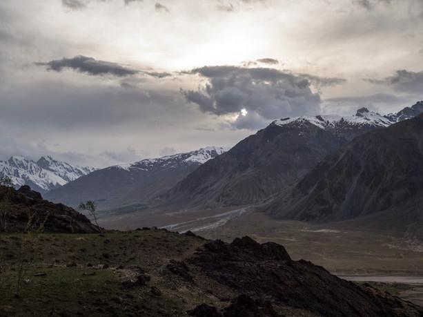 View from Stongdey Gonpa, Zanskar, India