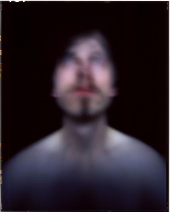 Self Portrait. One Hour Exposure. 2019