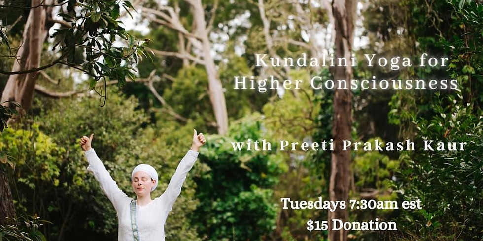 Kundalini Yoga for Higher Consciousness