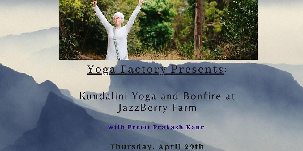 Kundalini Yoga and Bonfire at JazzBerry Farm