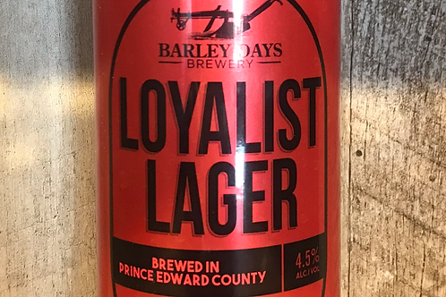 Loyalist Lager 473ml