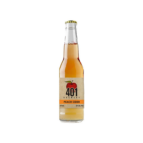 Peach Cider 341ml
