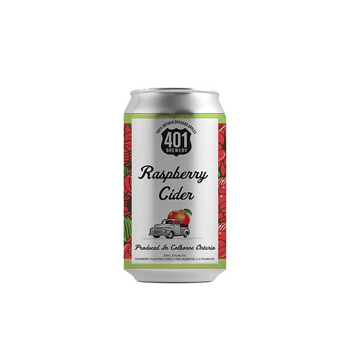 Raspberry Cider 355mL Can