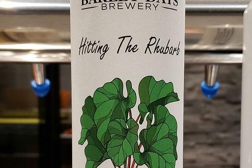 Hitting the Rhubarb Wheat Beer 473ml