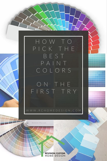 How to Pick the Best Paint Colors (on the first try)