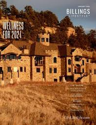 cover of billings lifestyle january 2021
