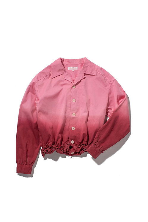 CRUMPLE Hand-Dyed Ombre Shirt