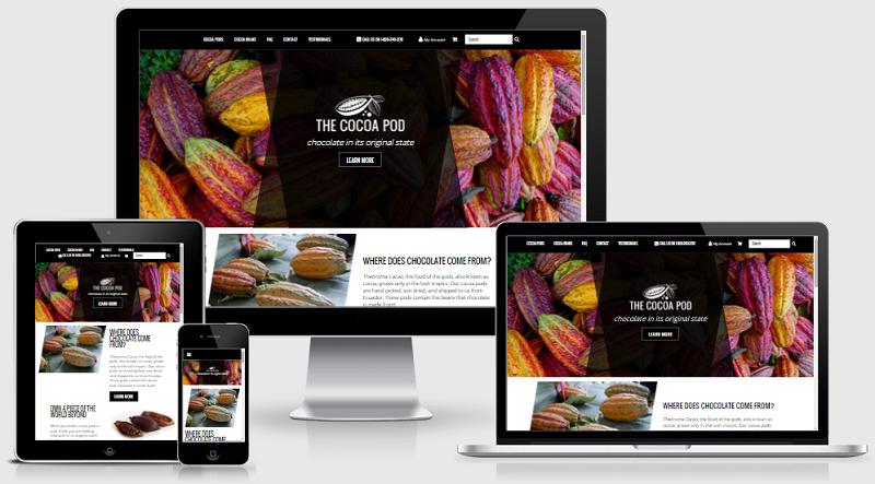 cocoa pod bigcommerce responsive design