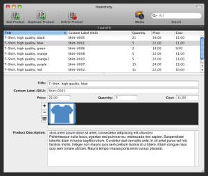 GarageSale-InventoryPanel