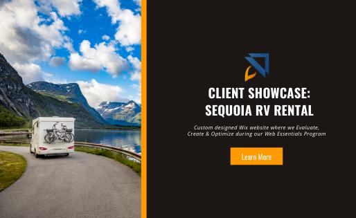 Client Showcase – RV Rental Business Website
