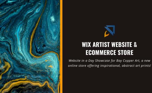 Wix Artist Website