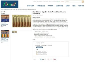 Fixwell-productpage