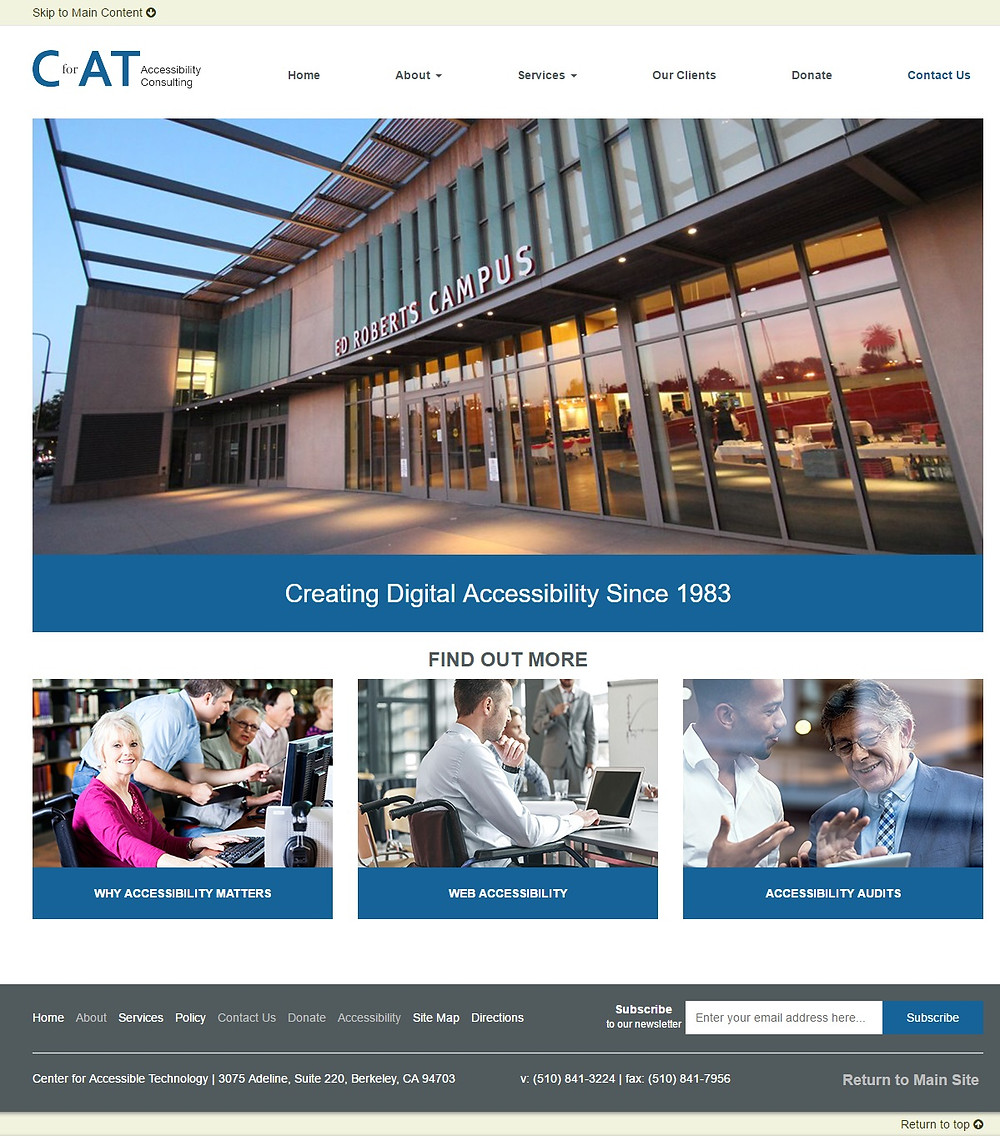 cforat accessibility showcase