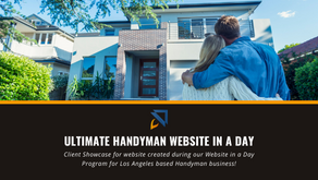 Wix Handyman Website in a Day