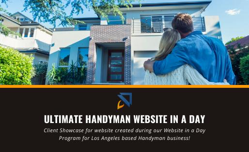 Wix Handyman Website in a Day