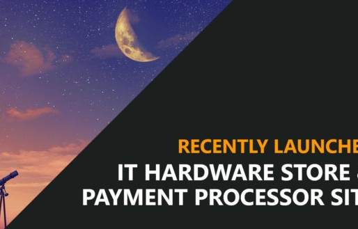 IT Hardware Ecommerce Site and Payment Processor Site