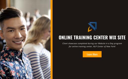 Online Training Center Wix Site