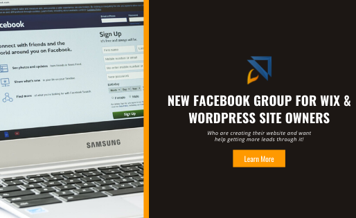 Facebook Group for Wix & WordPress Site Owners