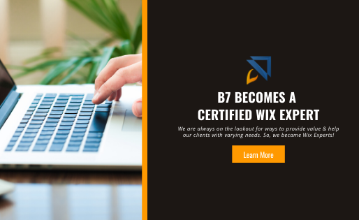 Border7 Becomes a Certified Wix Expert