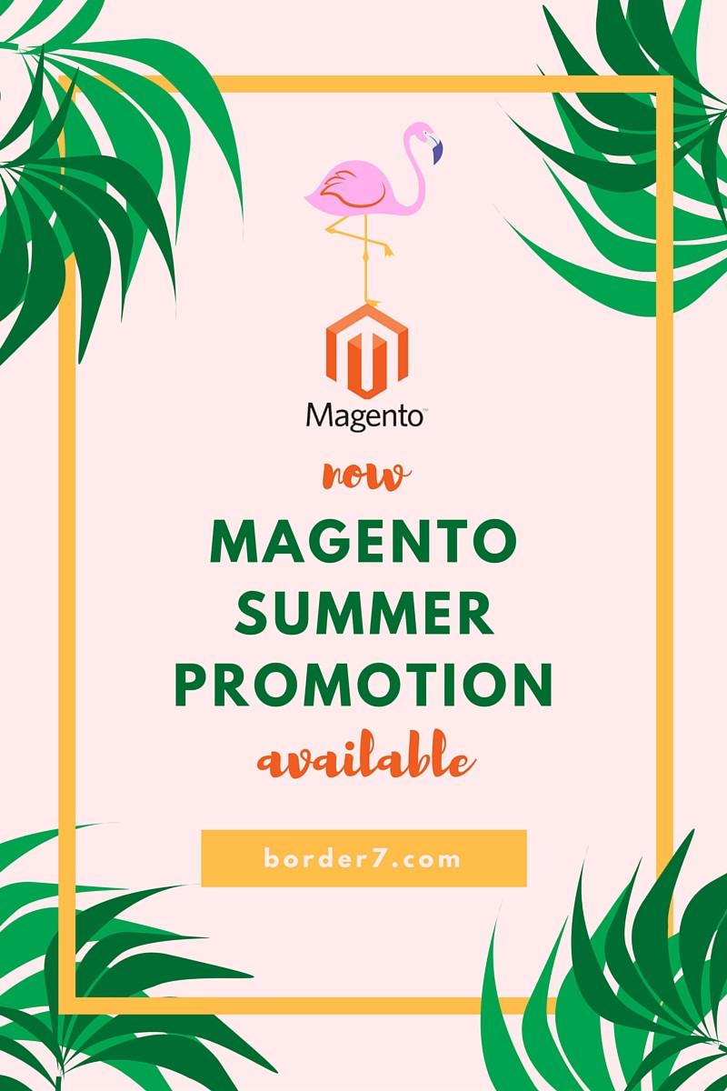 magento summer promotion